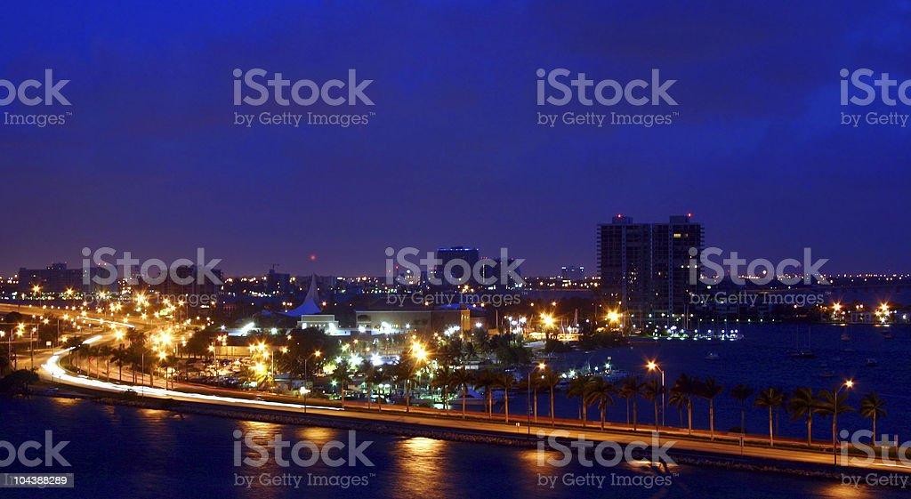 Miami Morning royalty-free stock photo