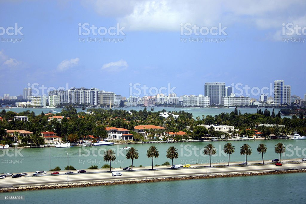 Miami royalty-free stock photo