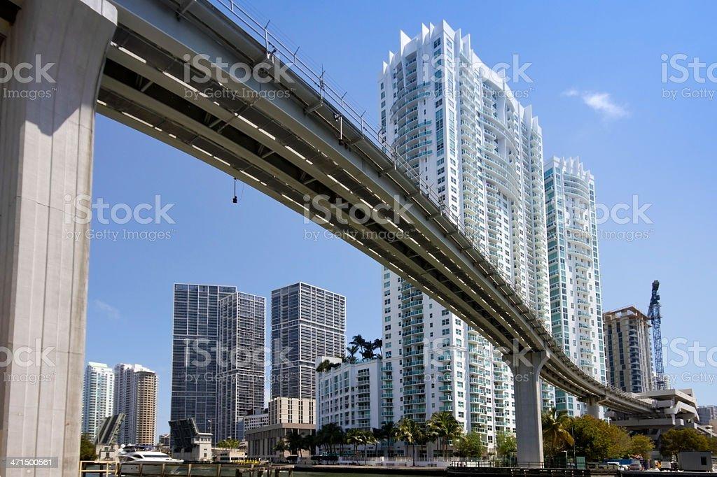 Miami River stock photo