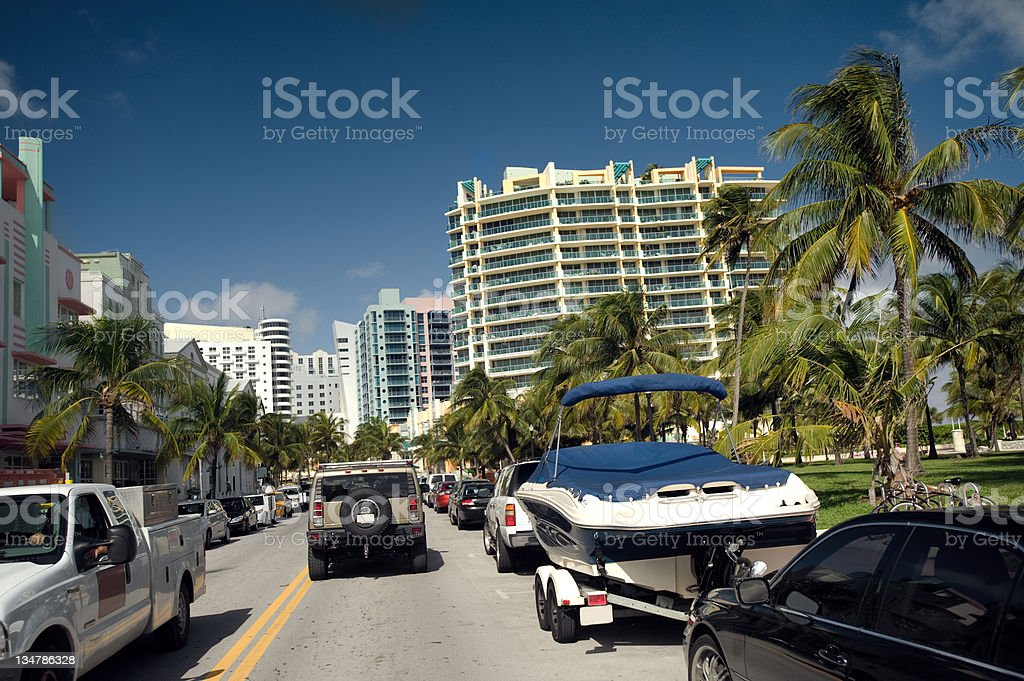 Miami South Beach toys royalty-free stock photo