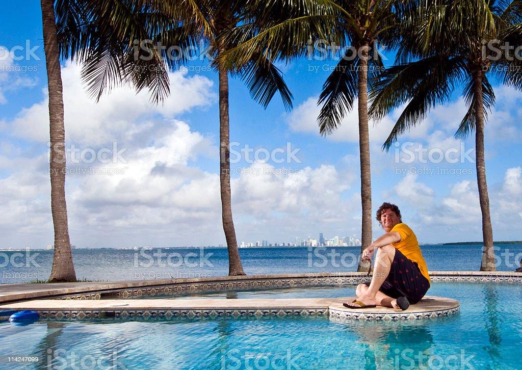 Miami View stock photo