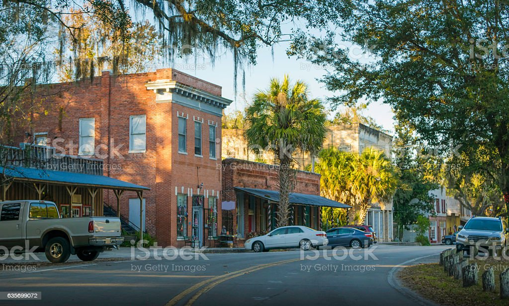 Micanopy, Florida stock photo