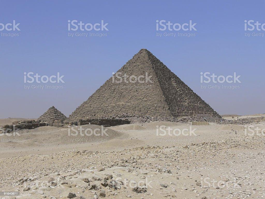 Micerinos Pyramid 2 royalty-free stock photo