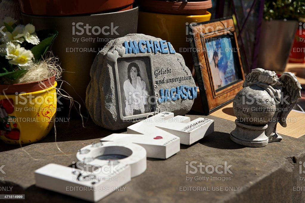 Michael Jackson Memorial in Munich, Germany stock photo