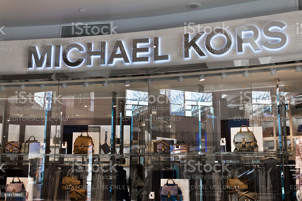 Indianapolis - March 2016: Michael Kors Retail Store II stock photo