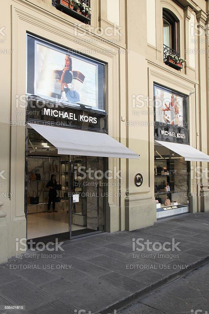 Michael Kors shop stock photo