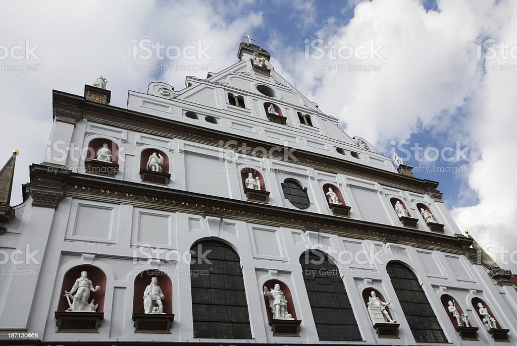 Michaels Church, Munich royalty-free stock photo