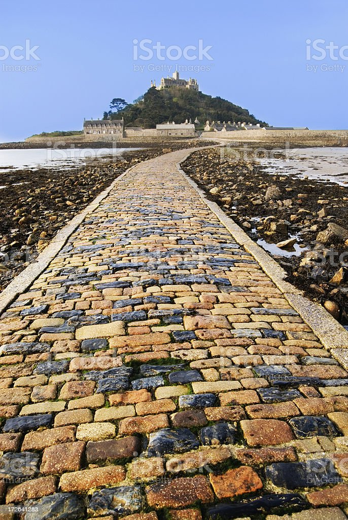 Michaels Mount stock photo