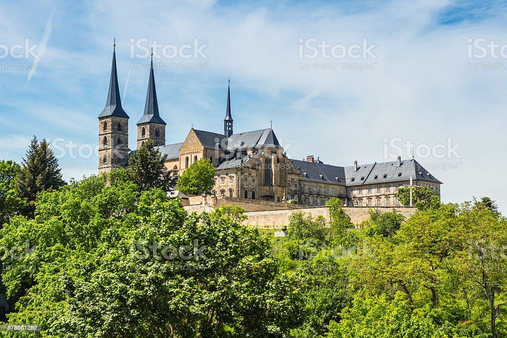 Michaelsberg Abbey, Bamberg, Germany stock photo
