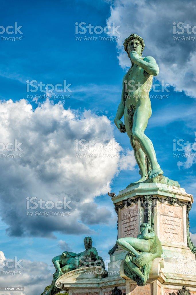 Michelangelo statue royalty-free stock photo