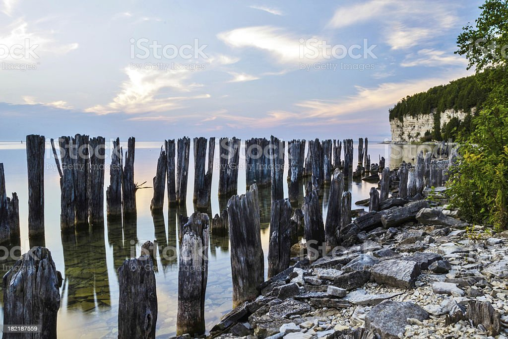 Michigan Afternoon royalty-free stock photo