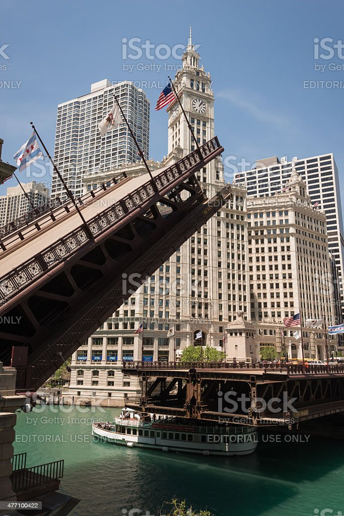 Michigan Avenue stock photo