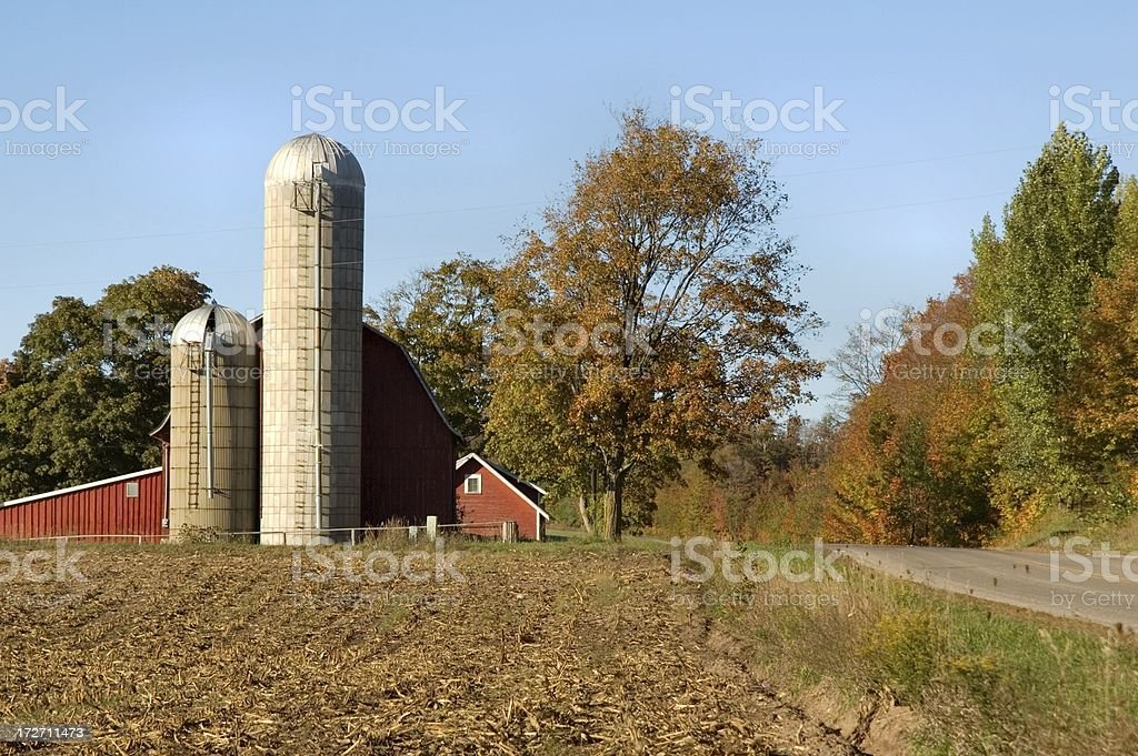 Michigan Countryside royalty-free stock photo
