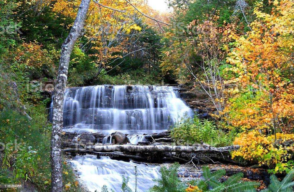 Michigan Water Falls royalty-free stock photo