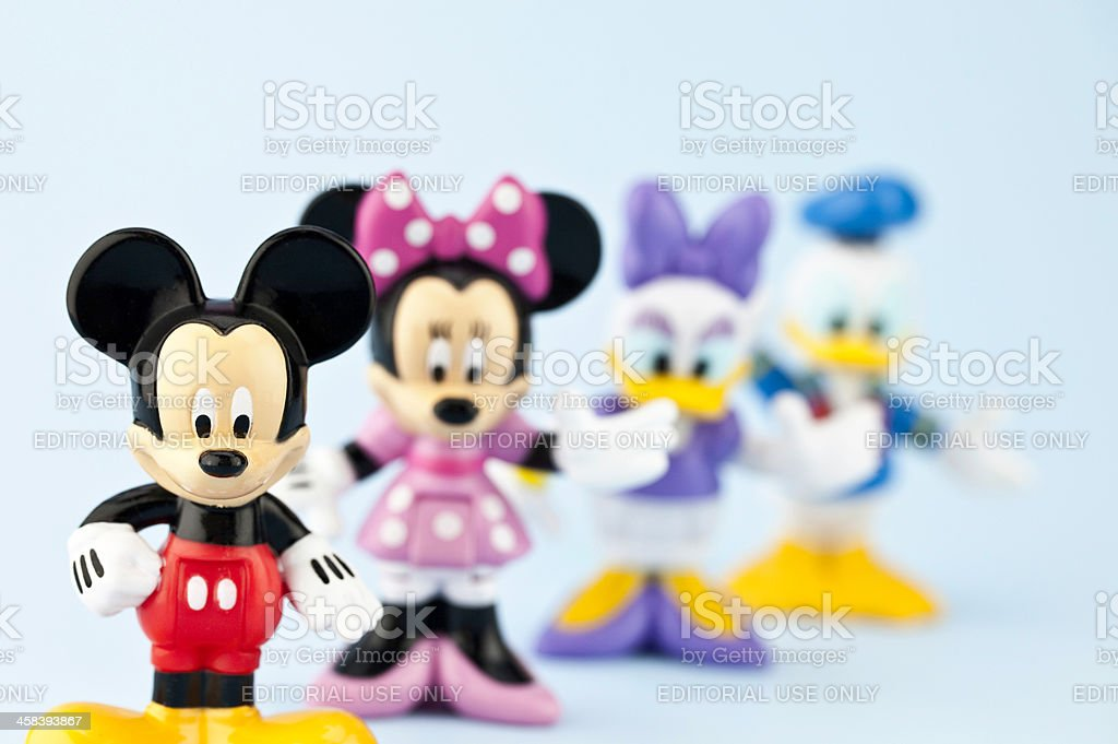 Mickey Mouse and Friends stock photo