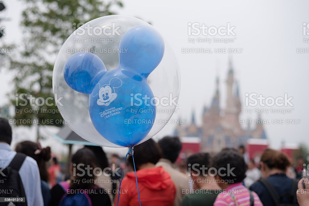 Mickey Mouse Ballon stock photo