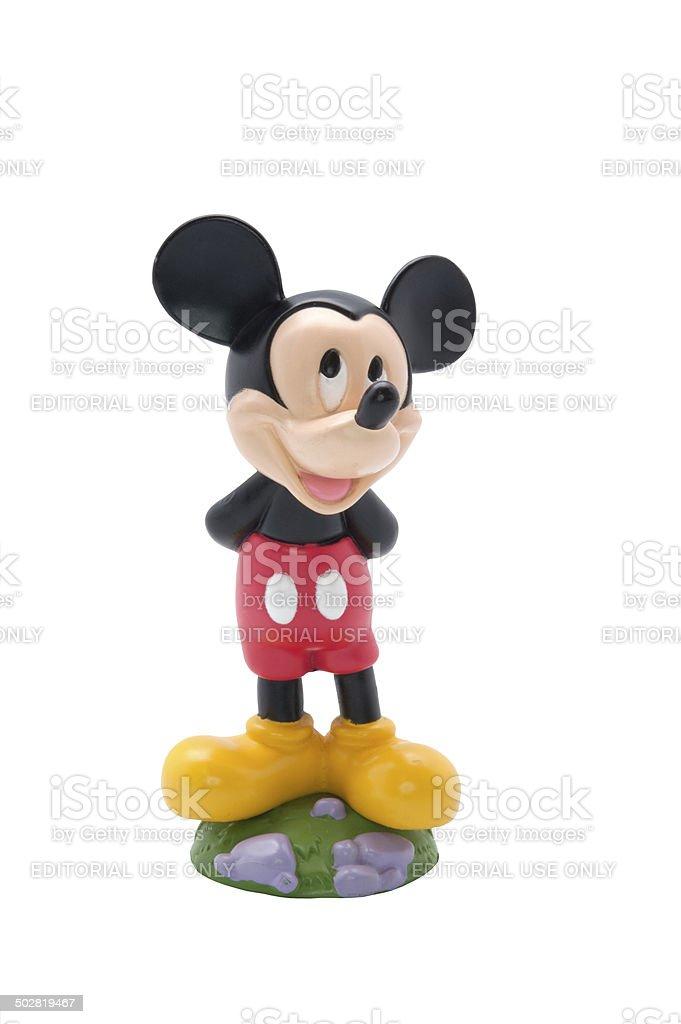 Mickey Mouse Figurine stock photo