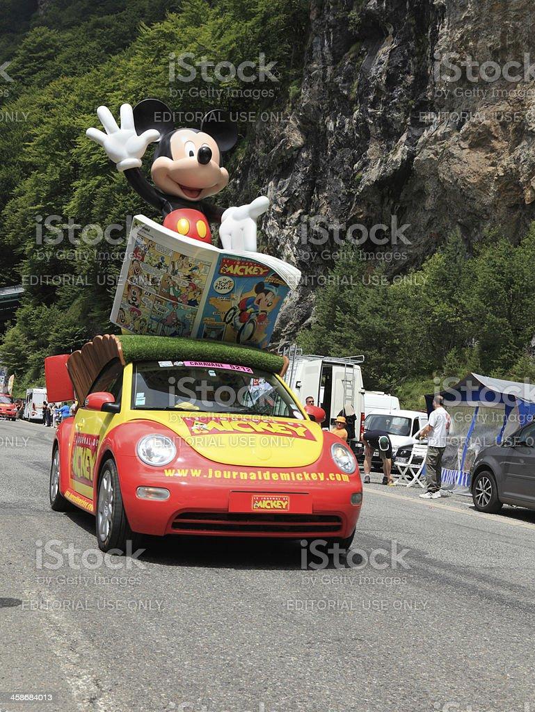 Mickey's car royalty-free stock photo