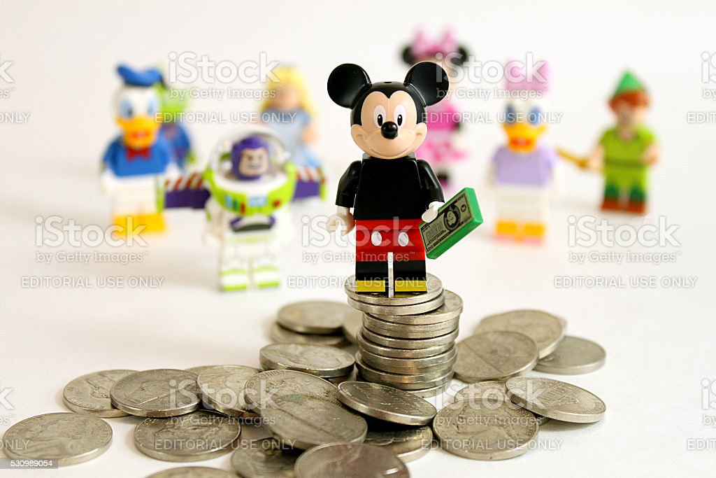 Mickey's On Top stock photo