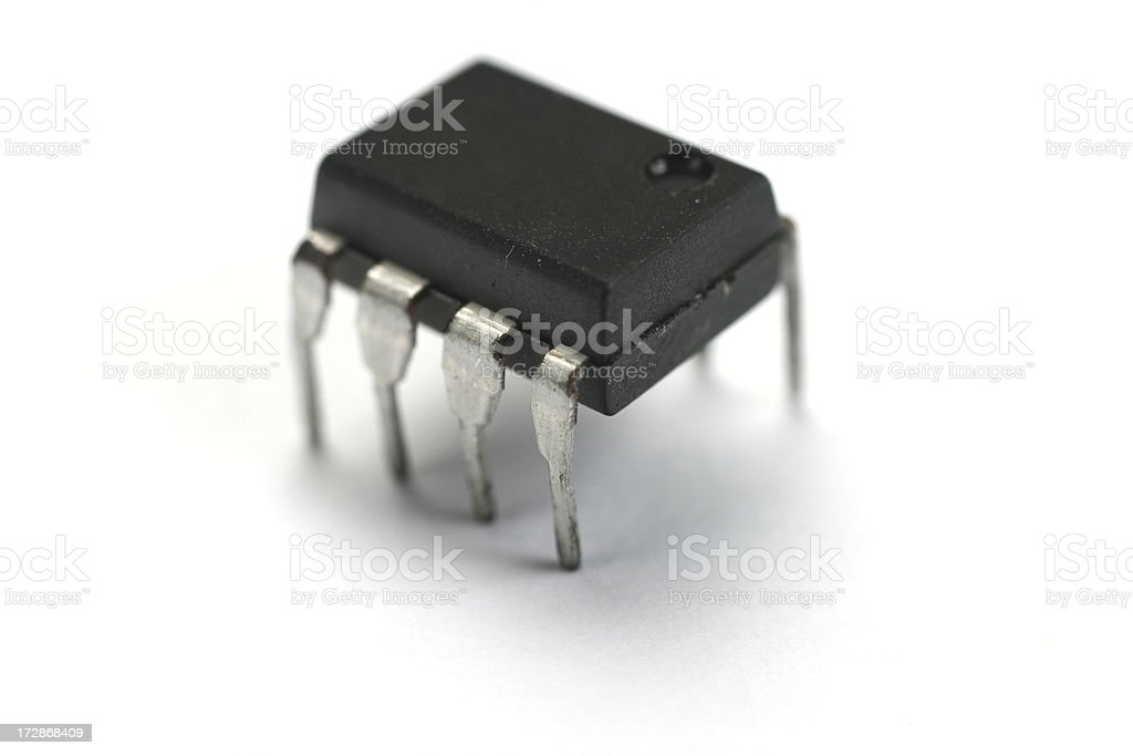 micorchip royalty-free stock photo