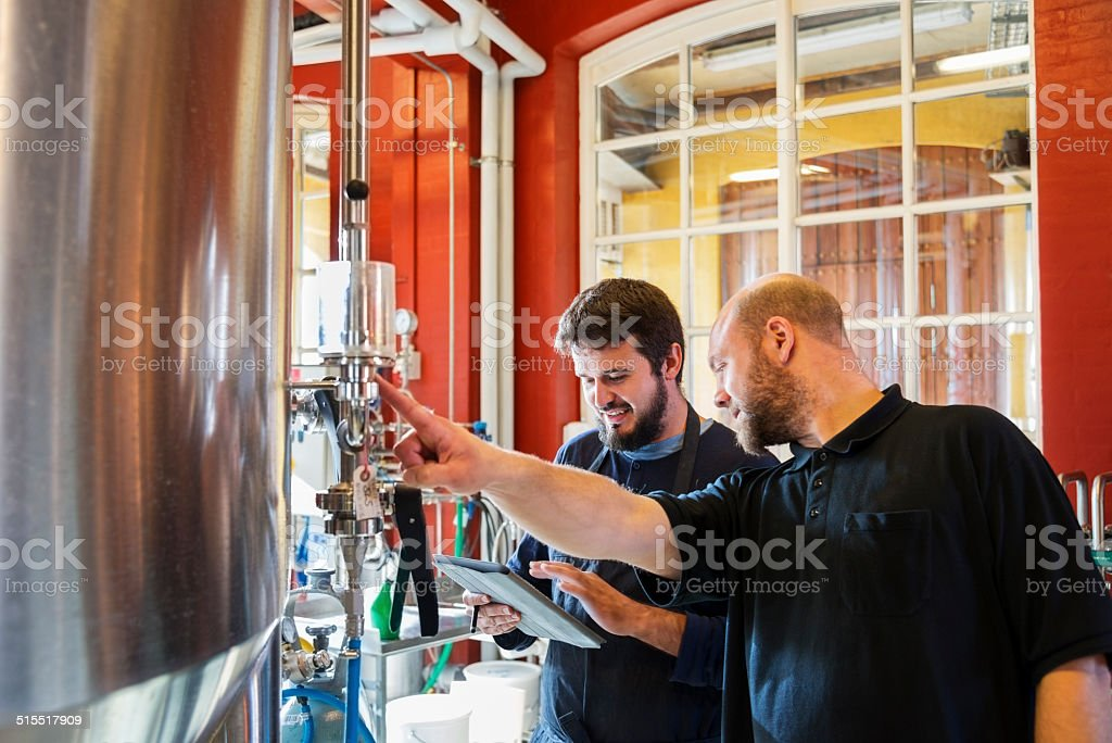 Micro Brewery stock photo