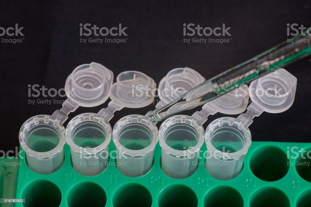 Micro centrifuge tube stock photo