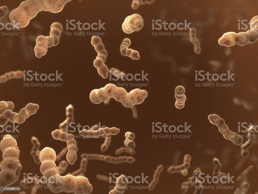 microbes royalty-free stock photo
