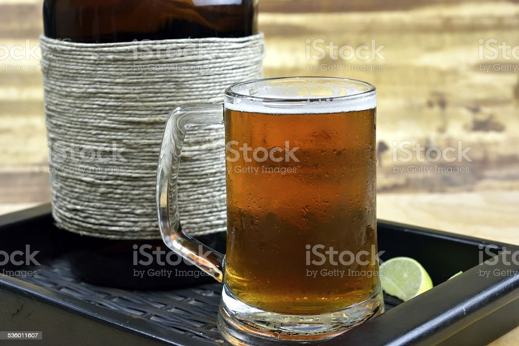 Microbrew Beer royalty-free stock photo