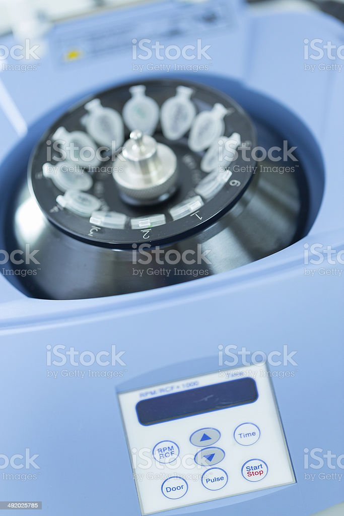 microcentrifuge and Tube stock photo