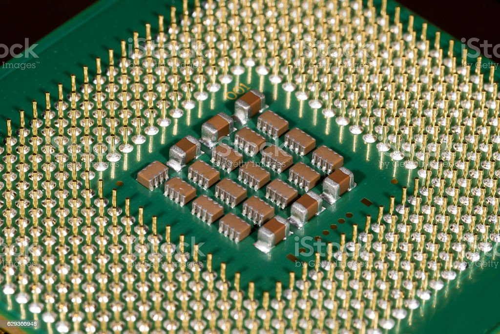 Microchips royalty-free stock photo