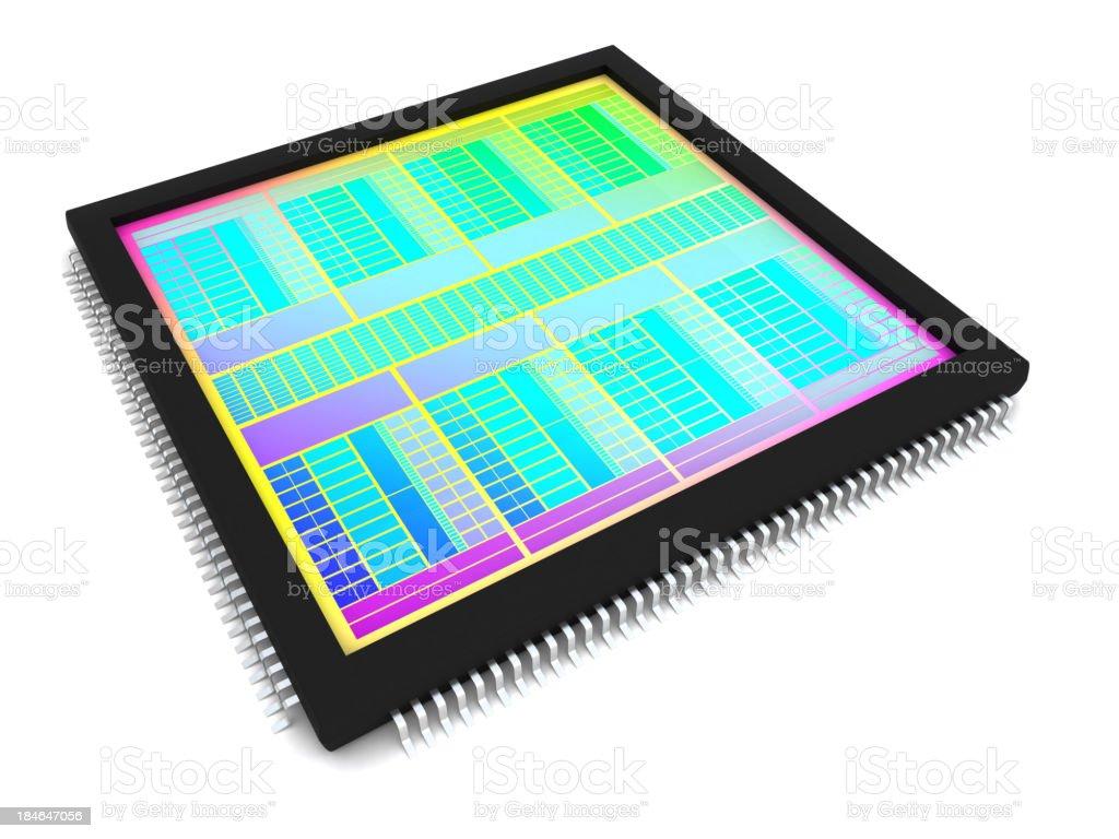 Microhip stock photo