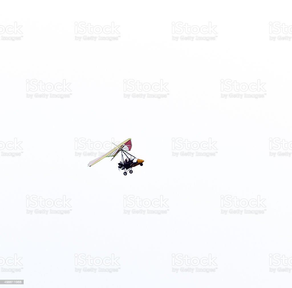 Microlight Plane stock photo