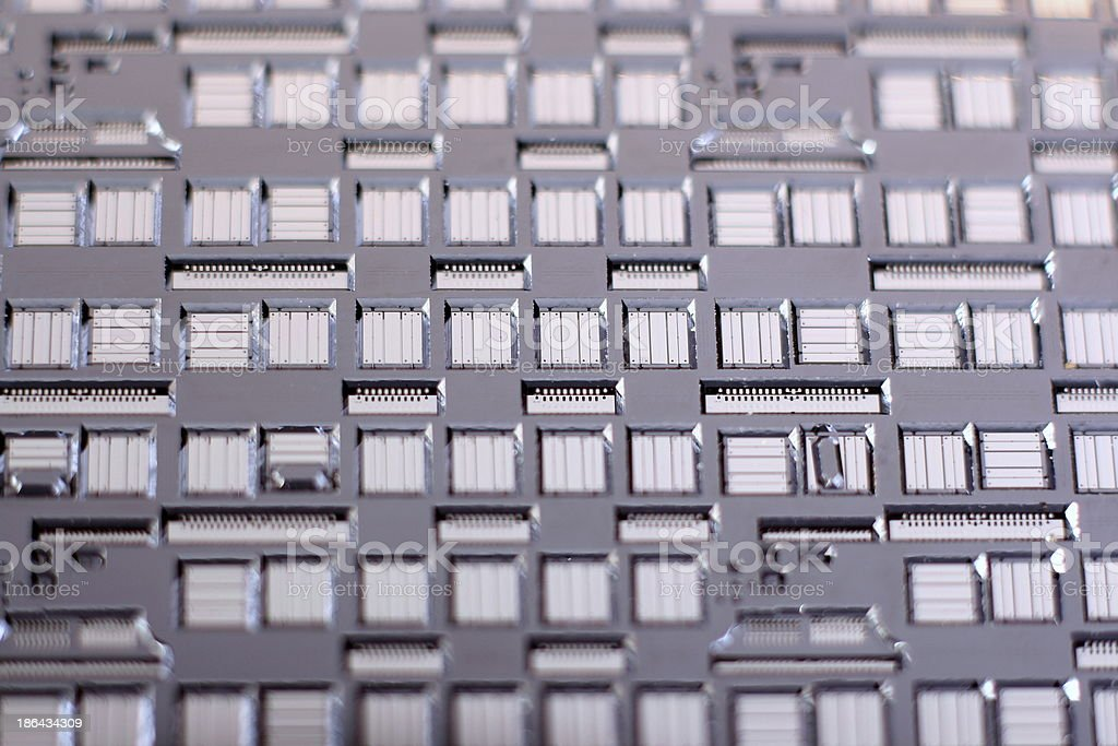 Micromechanic Structure stock photo