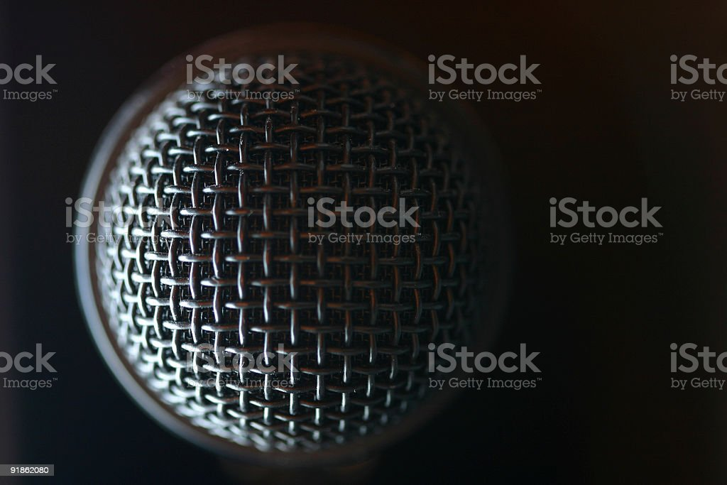 Microphone Eclipse stock photo