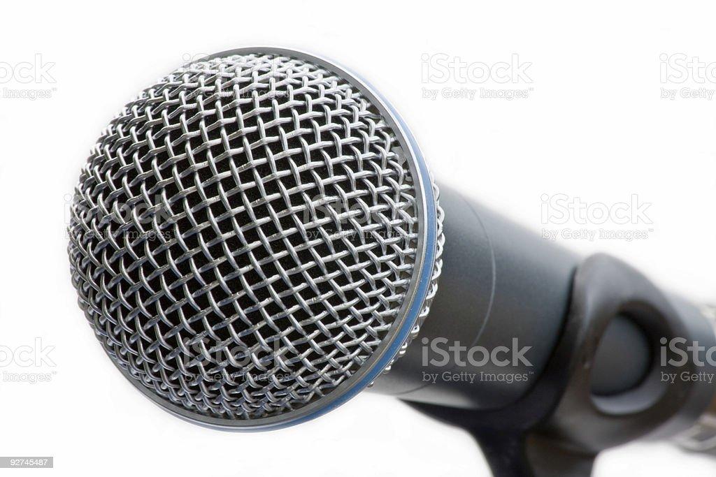 Микрофон на стойка Стоковые фото Стоковая фотография