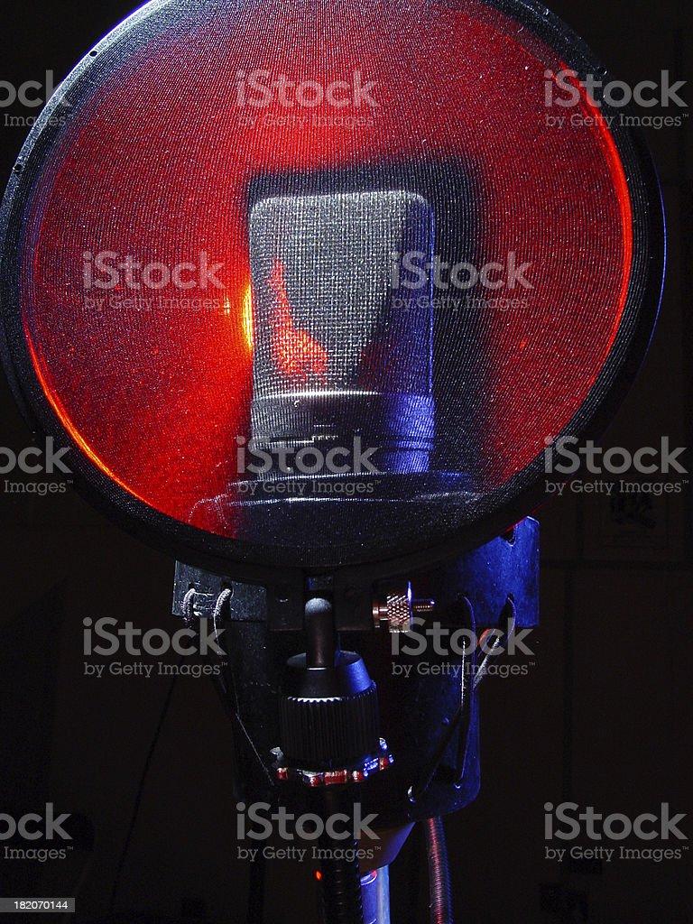 Microfono foto stock royalty-free