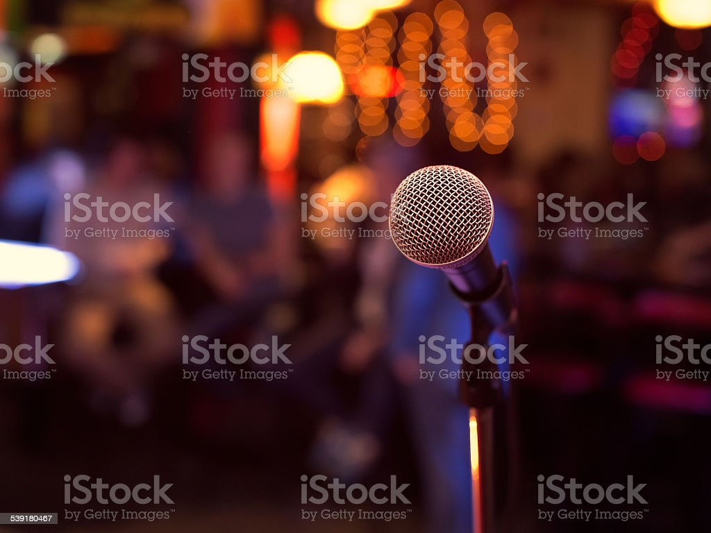 Microphone. stock photo