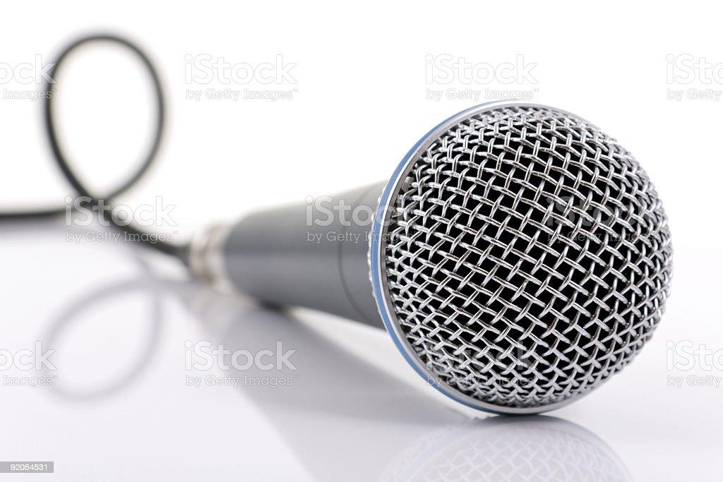 Микрофон Стоковые фото Стоковая фотография