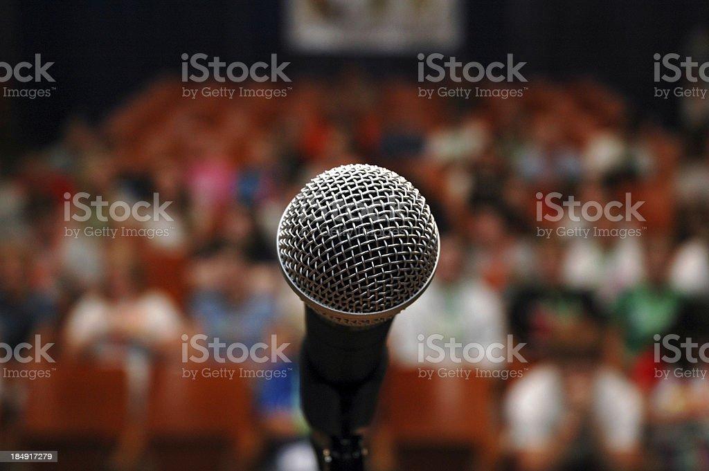 A microphone - Campuser