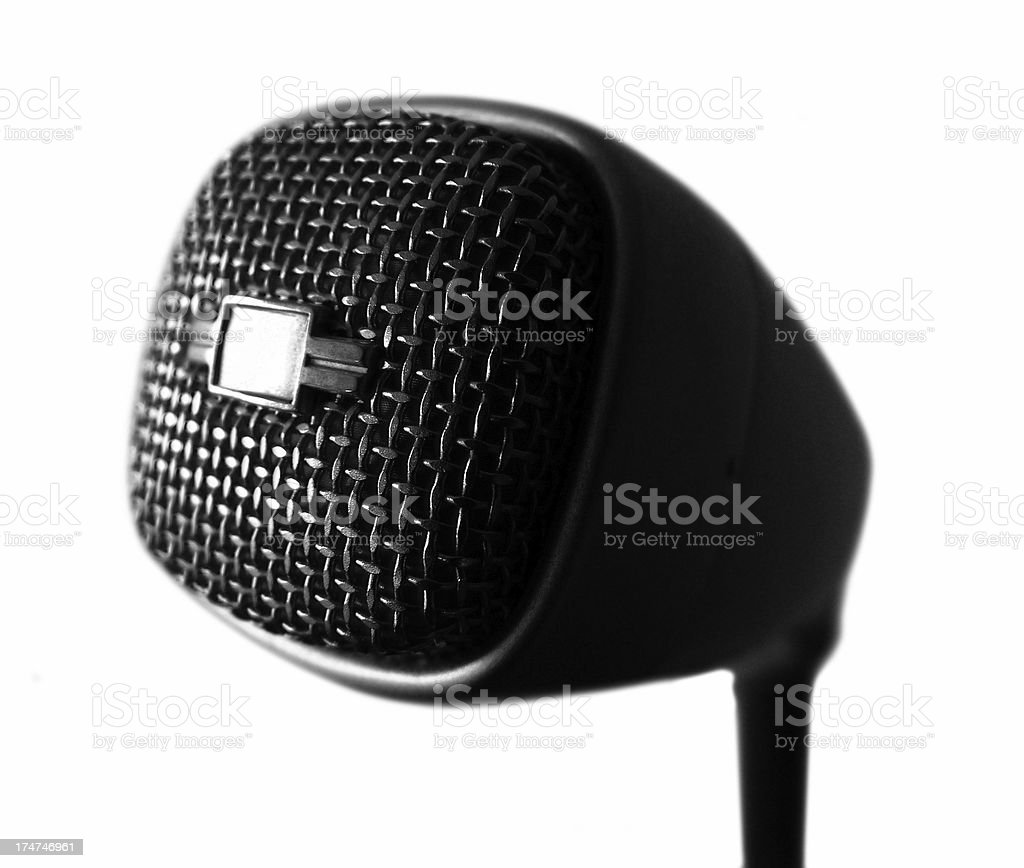 microphone_md21n stock photo