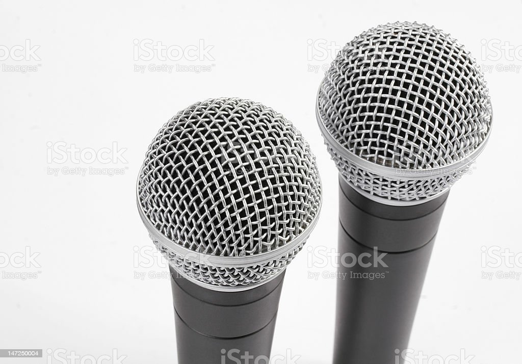 Microphones royalty-free stock photo