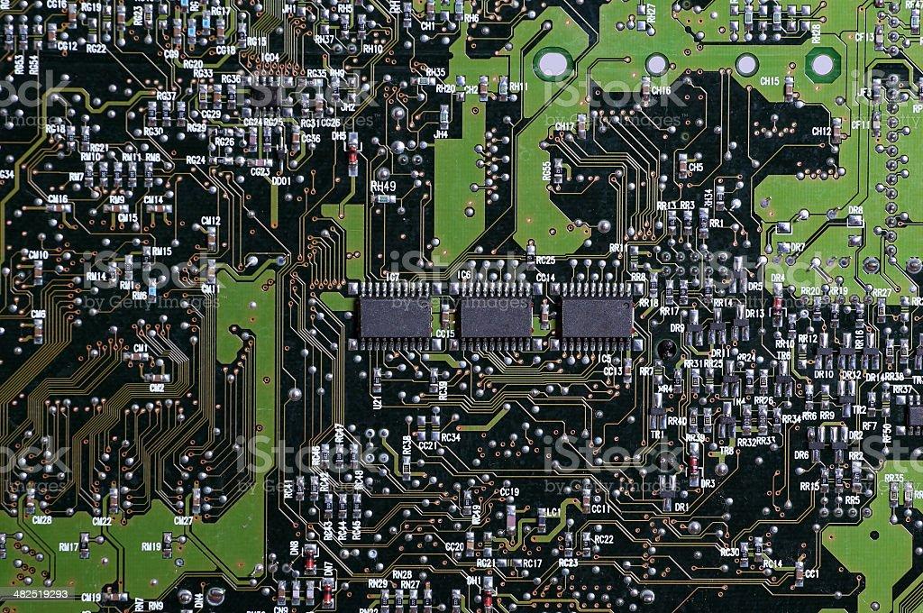 microprocessors stock photo
