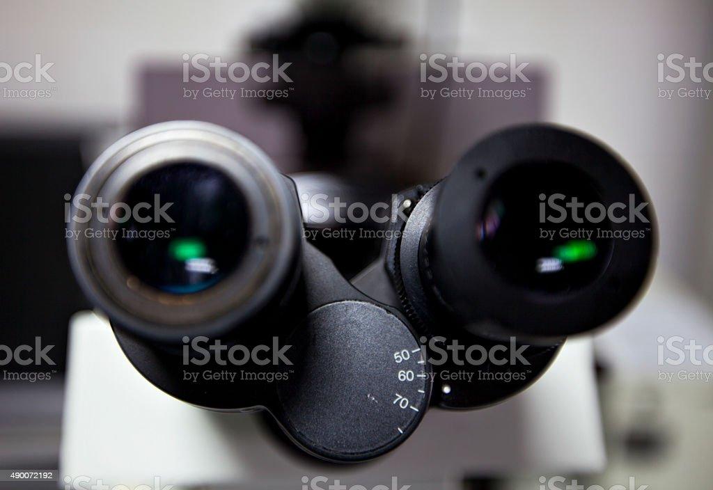 microscope detail stock photo