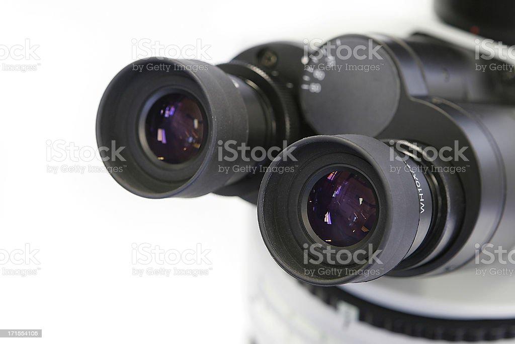 Microscope eyepiece II royalty-free stock photo