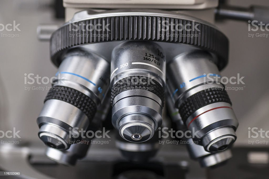 Microscope royalty-free stock photo