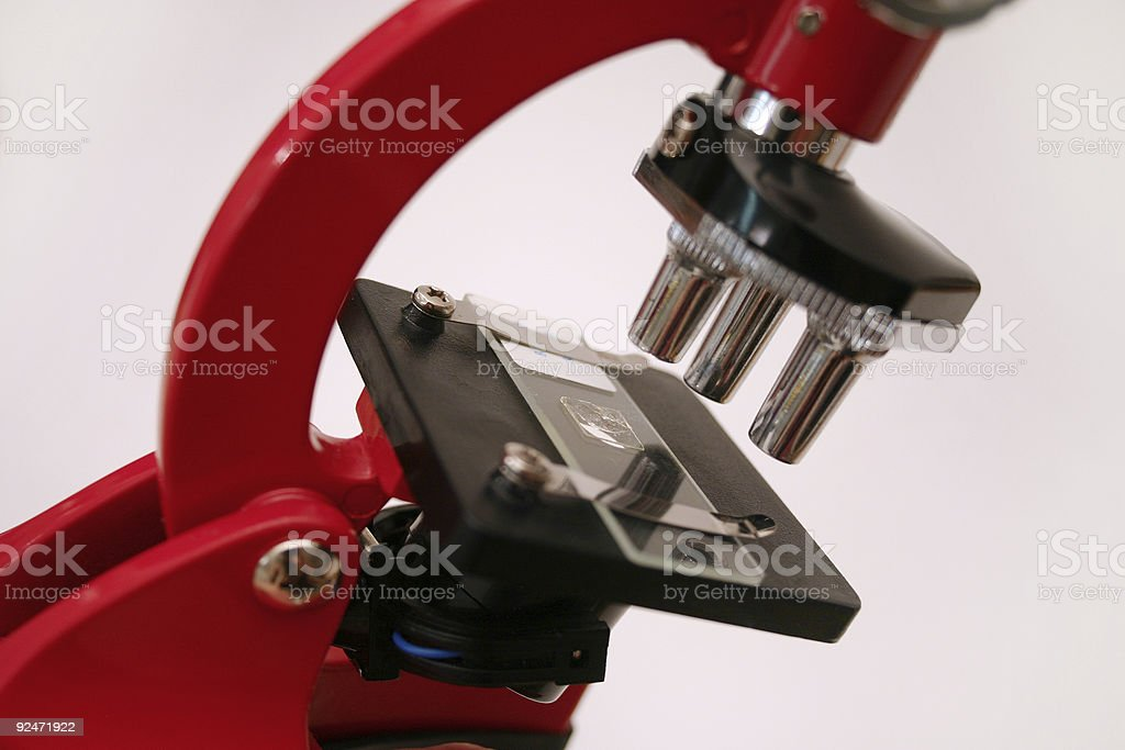 Microscope series 3 royalty-free stock photo