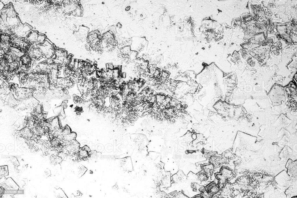 microscopic microcrystal background stock photo