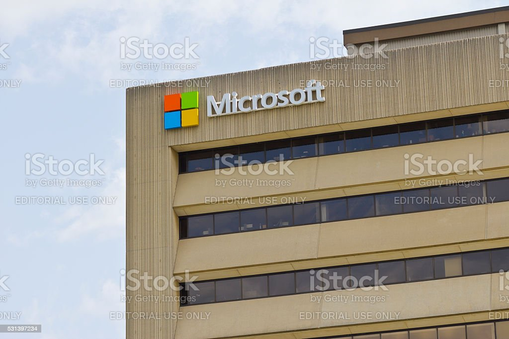 Indianapolis - May 2016: Microsoft Midwest District Headquarters I stock photo