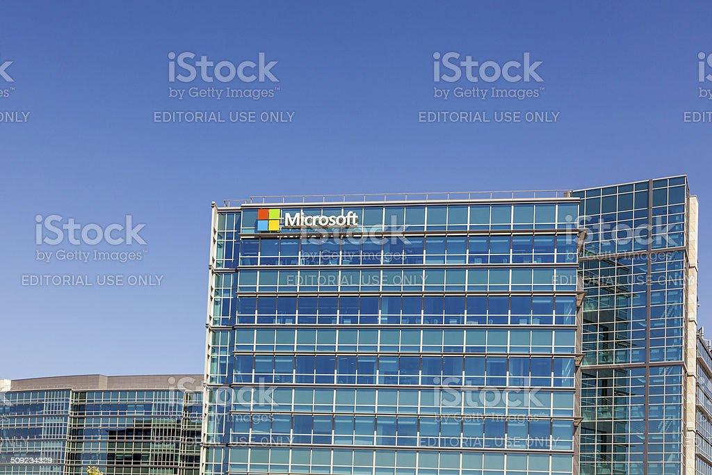 Microsoft Mountain View stock photo