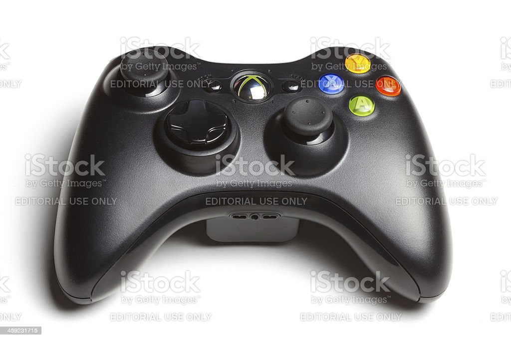 Microsoft Xbox 360 Controller royalty-free stock photo
